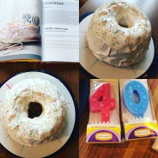 Sarah's Angel food cake