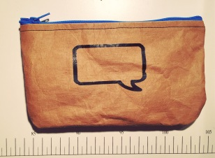 Pencil case using Snap pap