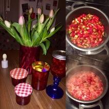Strawberry/Rhubarb marmalade